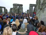 Flashback Friday: Frozen at Stonehenge