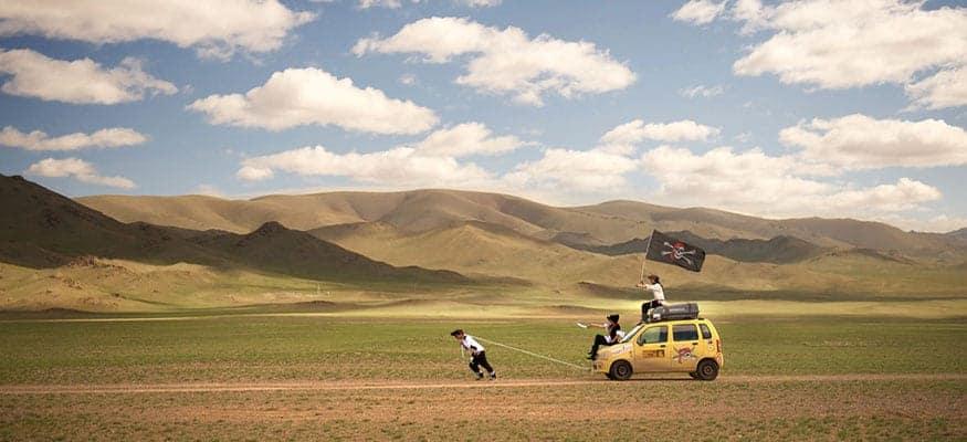 mongol-car