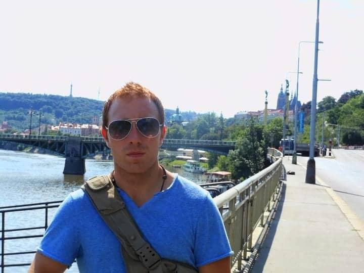 Traveling through Prague