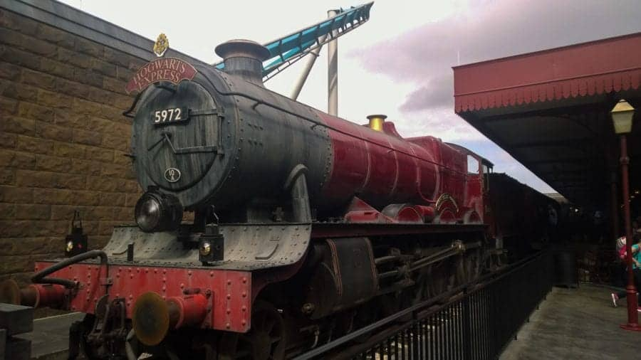 Hogwarts Express at Universal Studios - The wizarding world of Harry Potter