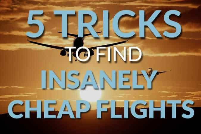 Insanely cheap flights