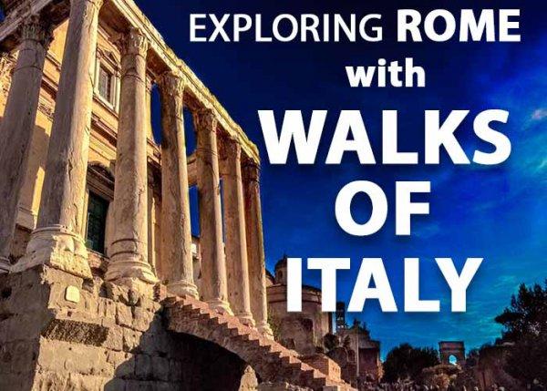 Roman Forum Walks of Italy Tour