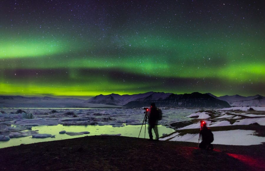 Travelling to Iceland for Northern Lights