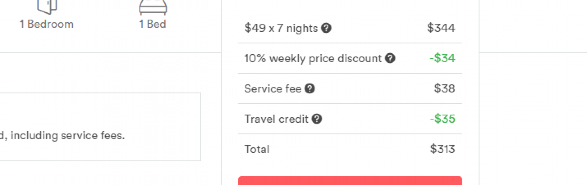 Airbnb Promo - Weekly Discount