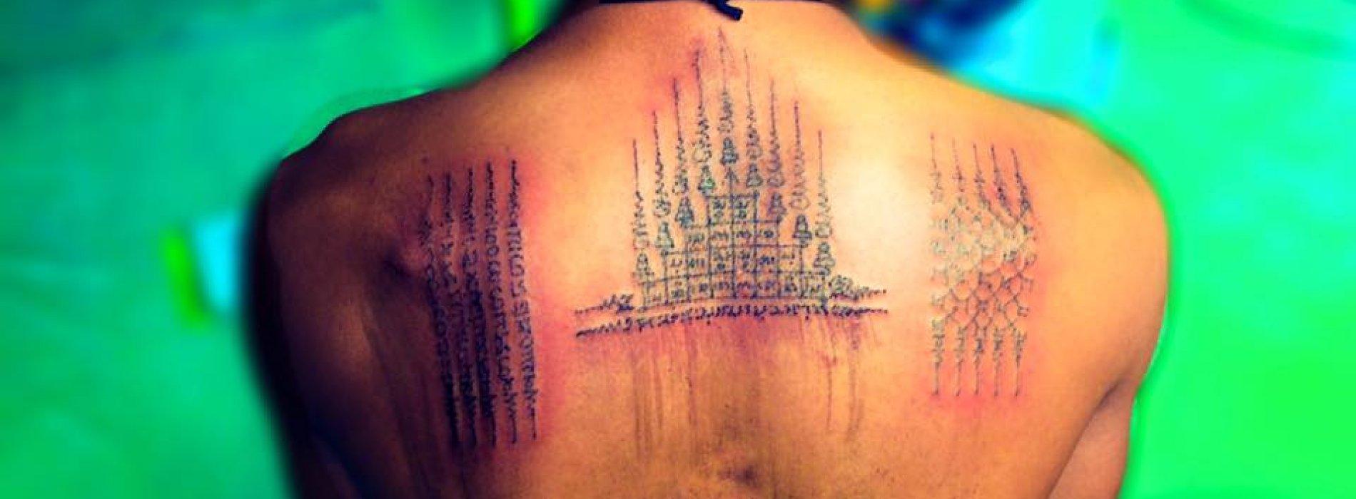 Sak Yant - Bamboo Tattoo