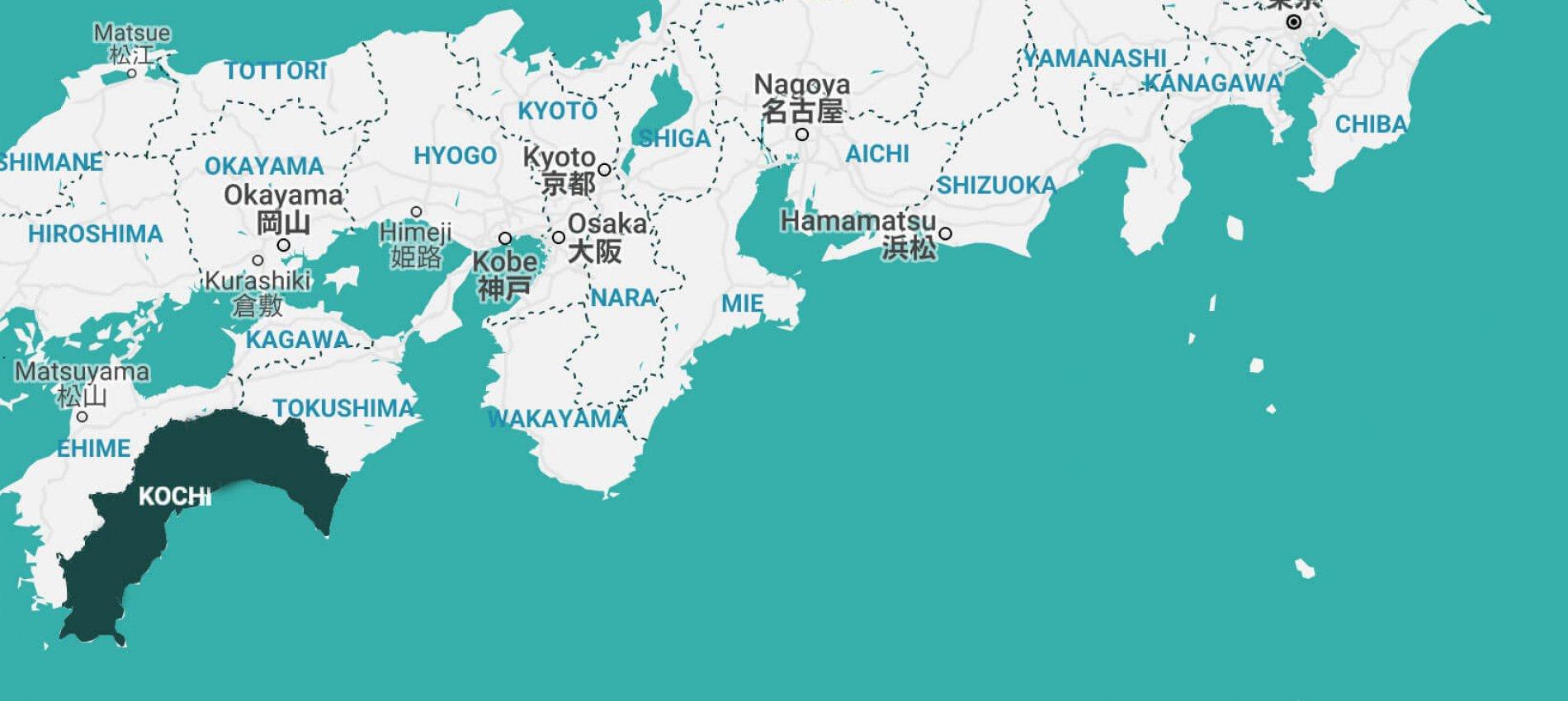 Map-of-Kochi-Japan