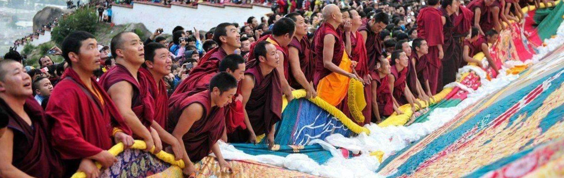 Festival in Tibet